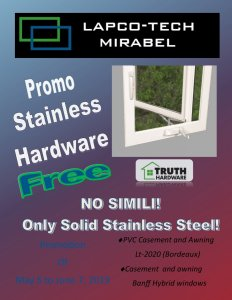Promotion   Stainless  Hardware