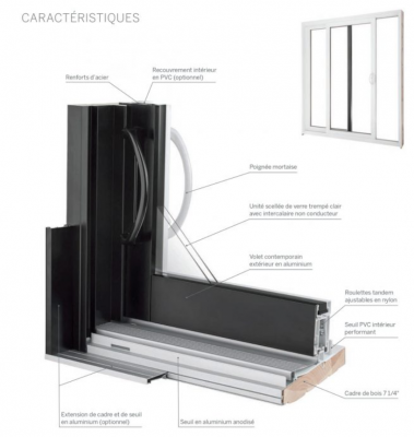 HYBRID DECKO  SLIDING  DOOR