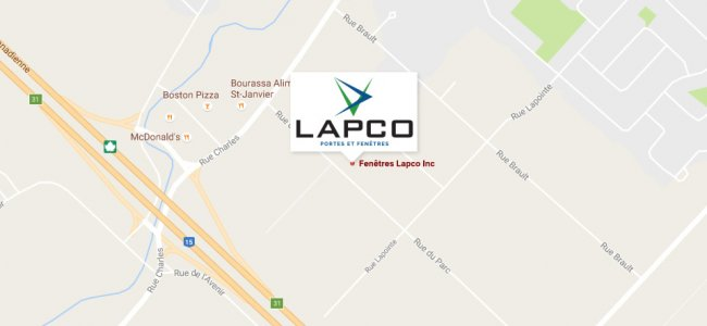 Lapco google map